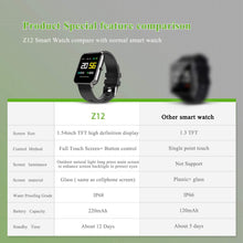 Load image into Gallery viewer, (D054) Smart Watch Square Multifunction for Men Women, Compatible for Android iOS Phones