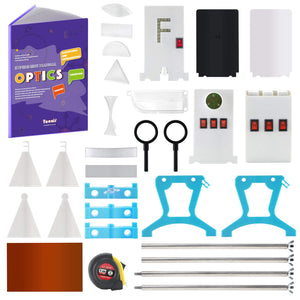 (E541) Physics Science Lab Optics Learning Starter Kit Light Experiment for Kids Elementary Junior Senior High