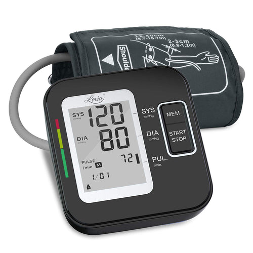 (C241) Blood Pressure Monitor for Upper Arm, LOVIA Accurate Automatic Digital BP Machine
