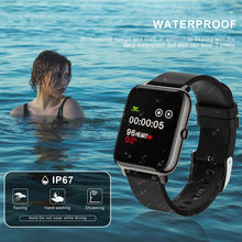 Load image into Gallery viewer, (S300)SKMEI Smart Watch, Waterproof Smart Watch for Men Women, Fitness Tracker with Heart Rate Monitor Blood Pressure Blood Oxygen Monitor