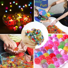 Load image into Gallery viewer, (S810)ZGWJ 12 Pack Anti-Stress Ball LED Mesh Squeeze Ball Toys Home and Office Use Stress Relief Toys for Easter Christmas Birthday Gift