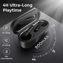 Load image into Gallery viewer, (H590) AVE Bluetooth 5.0 Wireless Earbuds with Wireless Charging Case 7H Continuous Playtime Waterproof TWS Stereo Headphones with Deep Bass for Sport