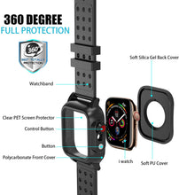 Load image into Gallery viewer, (E711) Realproof Waterproof Apple Watch Case 44MM Series 5 / 44MM Series 4