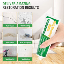 Load image into Gallery viewer, (A964) Wall Repair Patch Kit with Scraper, Drywall Repair Putty White Wall Mending Agent Repair Paste, Quick and Easy Solution