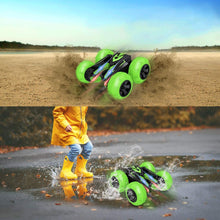 Load image into Gallery viewer, (V522)Vazillio Remote Control Stunt Car, 2.4 GHz RC Stunt Car Toy, Stand 360° Rotate Hot Speed Racing Car with Rechargeable Battery