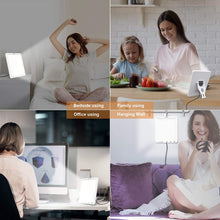Load image into Gallery viewer, (G181)Light Therapy Lamp,DZY UV-Free 10000 Lux LED Sunlight Lamp,White Light、Natural Light and Warm Light,Timer Function, Adjustable Brightness Levels, Touch Control