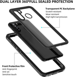 (H280)WIFORT Case Fit for Samsung A21, Waterproof Case Full Body Sealed Built in Screen Protector, Dual Layers Front and Back Cover Rugged....