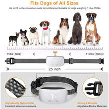 Load image into Gallery viewer, (E604)Nest 9 Dog Bark Collar, Rechargeable Anti Barking Training Collar, 7 Adjustable Sensitivity and Intensity Levels for Small Medium Large Dogs