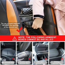 Load image into Gallery viewer, (T289)Car Net Pocket Handbag Holder for Purse Storage & Pocket, Seat Back Net Bag Driver Storage Netting Pouch, Cargo Tissue Holder,Barrier