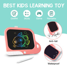 Load image into Gallery viewer, (Q315)TEKFUN Girls Toys Toddler Gifts Toys for 3-7 Year Old Girls, 8.5 Inch Color LCD Writing Tablet Erasable Doodle Board