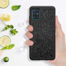 Load image into Gallery viewer, (A982)D DESSVON Samsung A51 Case, Galaxy A51 Case Glitter Black for Girl Women, Slim Full-Body Cover 2 in 1 Hybrid Hard PC & Soft TPU Rugged Bumper Shockproof Phone Case
