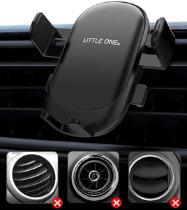 (K725) 2021 Upgraded Car Phone Holder with Air Vent Mount, Universal Air Vent Car Phone Holder Mount Hands Free Cell Phone Holder for Car, Cradle Compatible for The iPhone12/X/11 Samsung Galaxy S10 and More