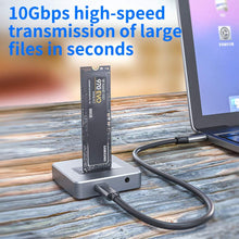 Load image into Gallery viewer, (V751)Acasis NVME to USB Adapter, M.2 SSD to Type A Card, No Cable Clone, High Performance 10 Gbps USB 3.1 Gen 2 Bridge Chip, Use as Portable...