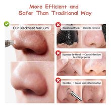 Load image into Gallery viewer, (X035)Blackhead Remover Pore Vacuum, OriHea Electric Facial Pore Cleaner with Strong Suction & 5 Multifunctional Probes