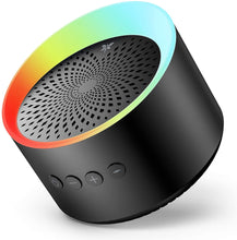 Load image into Gallery viewer, (R282)Bluetooth Speaker with Colorful Lights, Axloie Portable Speaker Wireless with Deep Bass and Stereo Sound, 12 Hours Playtime, TWS, Support TF Card/AUX