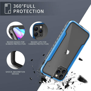 (X150)Defender Designed for iPhone 12 Case/iPhone 12 Pro Case 6.1 Inch, Protective Shield, with [2 x Tempered Glass Screen Protector]