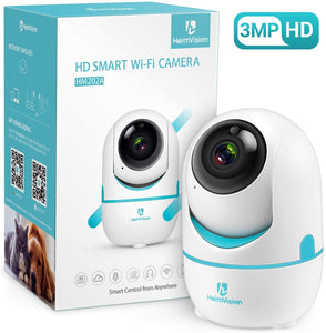 (A474)HeimVision 3MP Security Camera, HM202A Wireless WiFi Camera with Smart Night Vision/2 Way Audio/Motion Detection