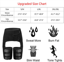 Load image into Gallery viewer, (R440)TOOVREN Waist Trainer for Women Weight Loss Everyday Wear 3 in 1 Waist and Thigh Trimmer Butt Lifter High Belts Fitness Sweat Belt
