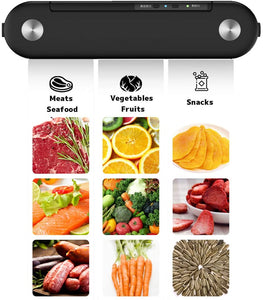 (Y571)YOUTING Nordic Style Vacuum Sealer,Automatic Food Sealer for Food Storage,Includes 10 Precut Bags