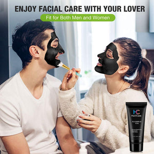 (D228)Blackhead Remover Mask with Pores Extract Shrink Essence Acne Blackhead Extractor Tool Set, AFDEAL Peel off Blackheads Masks Purifying Black Facial Masks