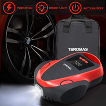 Load image into Gallery viewer, (H930)TEROMAS Tire Inflator Air Compressor, Portable DC/AC Air Pump for Car Tires 12V DC and Other Inflatables at Home 110V AC