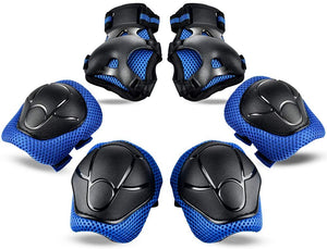 (R146)Letigo Knee Pads for Kids Elbow Pads and Knee Pads for Girls Boys Kids Protective Gear with Wrist Guard 6 in 1 for Skating Cycling Bike Rollerblading Scooter