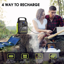 Load image into Gallery viewer, (X620)MARBERO 83.25Wh Portable Power Station, 22500mAh Lithium Battery, Power Supply with USB(QC/PD 3.0), Solar Panel...