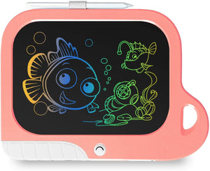 (Q315)TEKFUN Girls Toys Toddler Gifts Toys for 3-7 Year Old Girls, 8.5 Inch Color LCD Writing Tablet Erasable Doodle Board