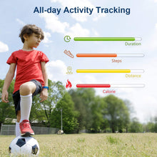 Load image into Gallery viewer, (K332)ONIOU Kids Fitness Tracker, Waterproof Activity Tracker Watch for Children, Pedometer Watch Calorie Step Counter