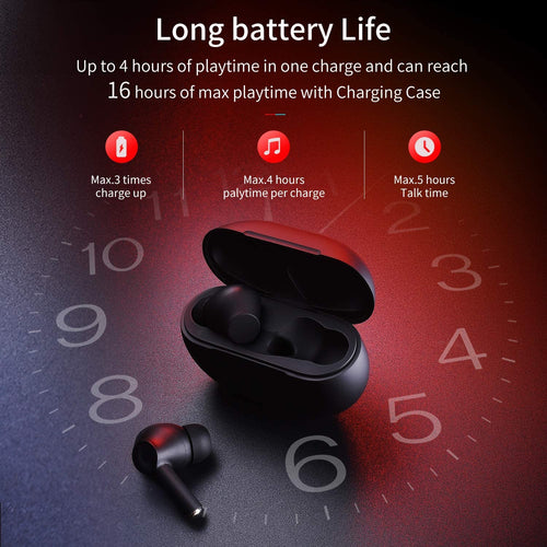 (A462)Wireless Earphones, VUNPOOS [USB-C Quick Charge] Bluetooth 5.0 in-Ear Stereo Wireless Earbuds Built