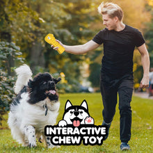 Load image into Gallery viewer, (H061)BASEIN Dog Chew Toys for Aggressive Chewers Large Medium Breed, with Squeaky Aggressive Chew Toys Tough Chew Toys