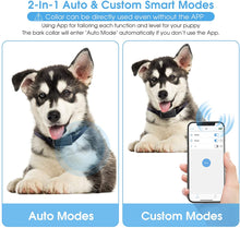 Load image into Gallery viewer, (X671)Dr.Trainer Dog Barking Shock Collar with APP Control, Waterproof Bark Collar with Custom Auto Intelligent Progressive...
