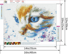 Load image into Gallery viewer, (E634)DIY 5D Full Drill Round Diamond Painting Kits by Number for Adults Crystal Rhinestone Embroidery Cross Stitch Arts Craft for Home Wall Decor Gift
