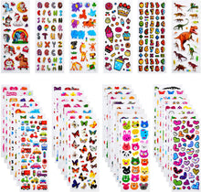Load image into Gallery viewer, (R781)Habett Stickers for Kids Toddlers, 920 3D Puffy Kids Stickers, 36 Styles Fun Stickers for Teachers, Reward, Craft Scrapbooking Including Letter, Numbers