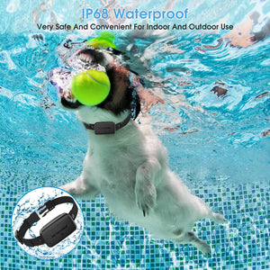 (X671)Dr.Trainer Dog Barking Shock Collar with APP Control, Waterproof Bark Collar with Custom Auto Intelligent Progressive...