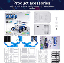 Load image into Gallery viewer, (R665)X TOYZ STEM Eco Science Building Kit DIY Solar Power Toy Car, Learning Science Building Space Mars Rover Car Toys Aged 6-12 Educational Gift