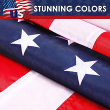 Load image into Gallery viewer, (C474)R'Patriots American Flag 6x4 FT | Correct Color and Grooved Embroidered Stars | Gift Package | Best Gift for Veterans, Children and Friends
