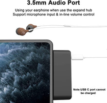 Load image into Gallery viewer, (X861)Surface Go Docking Station, 4-in-2 Surface Go/Go2 USB C Hub Adapter with 3 USB 3.0 Ports and 3.5mm Audio/Headphone Jack