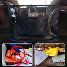 Load image into Gallery viewer, (R994)Car Net Pocket Handbag Holder, Durable Car Seat Storage and Handbag Holding Net