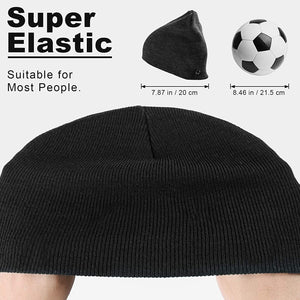 (Y594)Winter Unisex Knit Hats Cap for Men and Women Beanie Hat