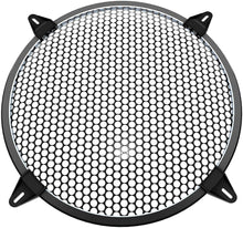 Load image into Gallery viewer, (K792)12 inch Speaker Grill-Subwoofer Grille -Steel Speaker Covers Waffle Speaker Woofer Grill Black with 4pcs Grill Clamps and 4pcs Screws