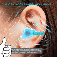Load image into Gallery viewer, (Y012)[Latest 2020] Ear Plugs for Sleeping & Swimming -8 Pair Reusable Silicone Moldable Noise Cancelling Earplugs