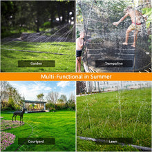 Load image into Gallery viewer, (T694)PQWQP Trampoline Sprinkler for Kids, Fun Summer Outdoor Water Play Sprinkler for Trampoline, Waterpark Outdoor Water Games Yard...