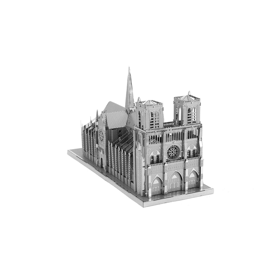 METAL EARTH Notre Dame de Paris 3D Model