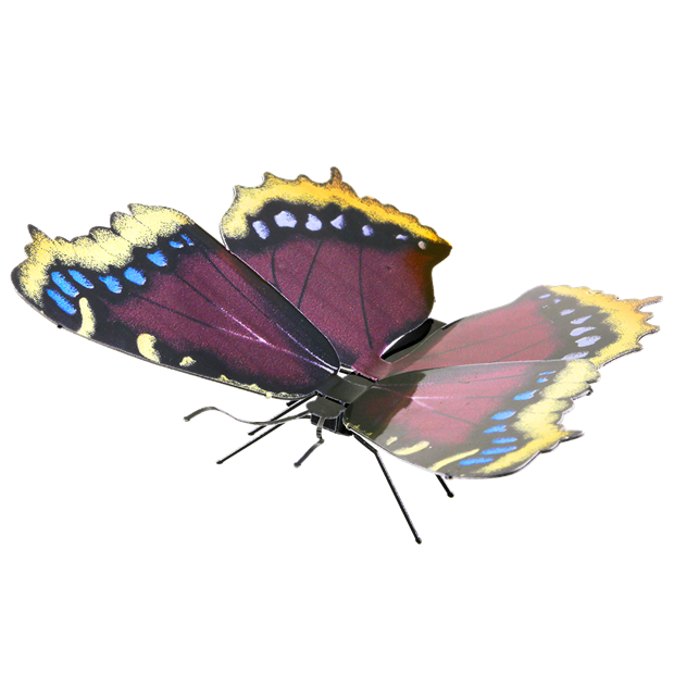 Metal Earth Mourning Cloak 3-D Model