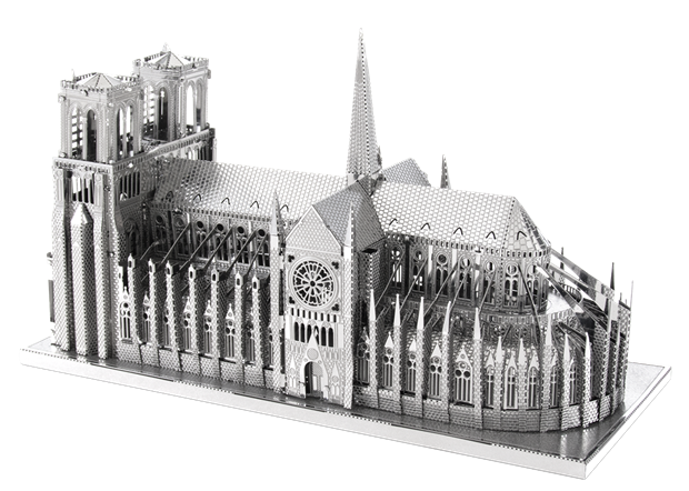 Metal Earth Notre Dame de Paris