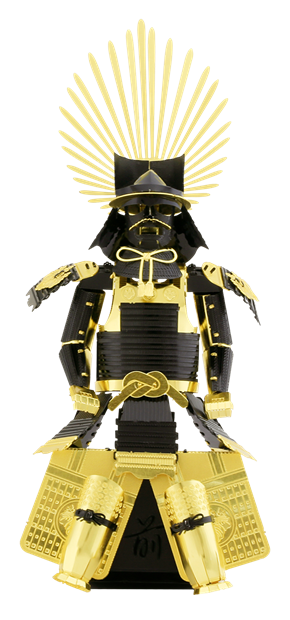 METAL EARTH Japanese (TOYOTOMI) Armor 3D Model