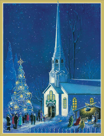 MIDNIGHT MASS Holiday Boxed Cards