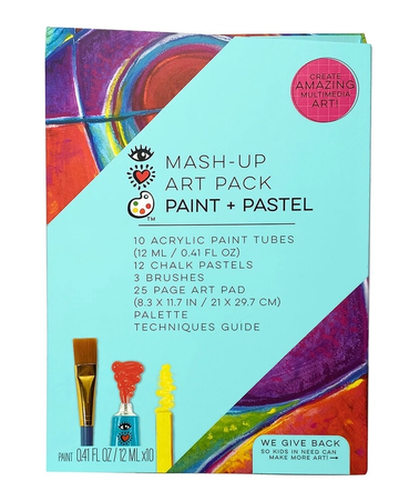 iHeart Art Mash Up Art Pack Paint and Pastel