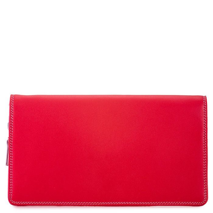 mywalit Large Zipped Wristlet in Ruby